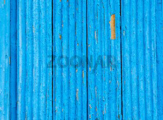 Wooden planks texture with the shabby blue paint