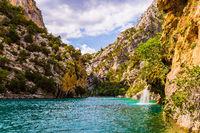 The Limestone Canyon Verdon