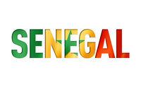 senegal flag text font
