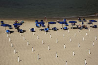 Strand, Lerci, Ligurien, Italien