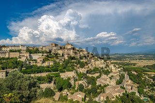 Provencal village of Gordes, France