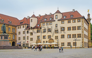 Alte Kanzlei am Schillerplatz in Stuttgart