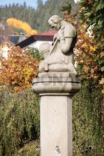 Statue in Bad Königswart