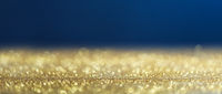 Gold and blue christmas background