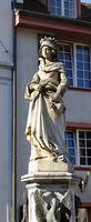 Basel, Heiligen-Brunnen, Elisabethen-Brunnen