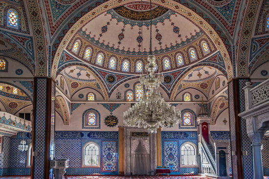 Manavgat Mosque Interior Turkey