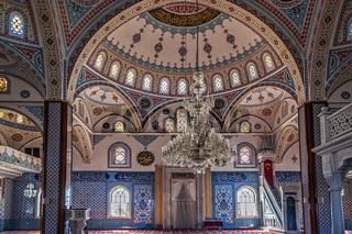 Manavgat Mosque Interior Turkey