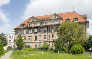 Gebäude in Konstanz-Petershausen beim Klinikum