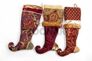 Christmas Embroidered Socks