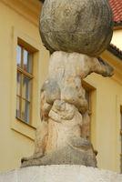 Statue in Prag, Tschechische Republik