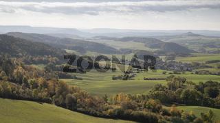Blick von den Dieteröder Klippen - Naturpark Eichsfeld Hainich Werratal