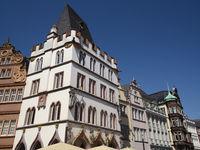 Trier - Häuser am Hauptmarkt, Deutschland