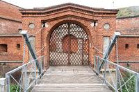 Festung von Dömitz an der Elbe