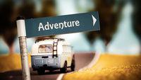 Street Sign to Adventure