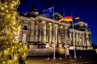 Reichstag, Weihnachten