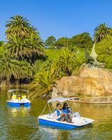 Lake Park, Parque Rodo, Montevideo, Uruguay