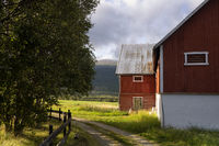 Falured shed in Norway
