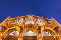 Central market in Valencia, Spain.