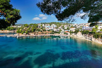 The port at Votsi of Alonissos, Greece