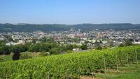 Trier - Blick auf die Stadt, Deutschland