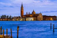 San Giorgio Maggiore church in Venice Italy