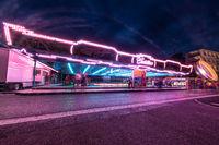 Autoscooter bei der Kilbi, Kirmes in Malters, Luzern, Schweiz, Europa
