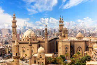 Mosque and Madrasa of Sultan Hasan in Cairo, Egypt