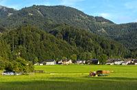 Ortschaft Winkl bei St. Gilgen, Salzkammergut, Österreich