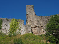 Chepstow Castle ruins in Chepstow