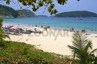 Traumstrand Ao Sane Beach, Phuket, Thailand