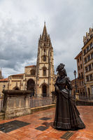 Oviedo Cathedral in Asturias, Spain