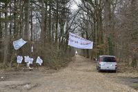 Protestaktion... Hambacher Forst *Nordrhein-Westfalen*