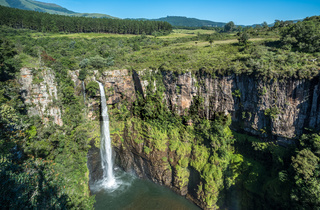 Mac Mac falls in the Sabie area, Panorama route, Mpumalanga, South Africa