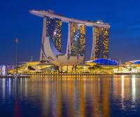 Singapore Marina Bay Sands hotel