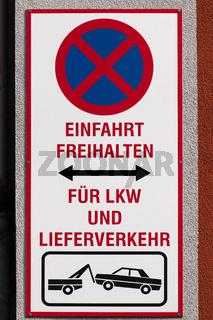 Schilder in Berlin. 005