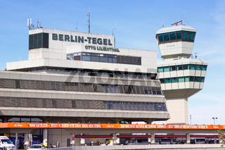 Berlin-Tegel Airport TXL Terminal and Tower
