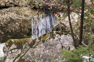 Kaskade des Kuhfluchtwasserfalls