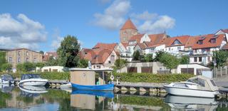 an der Elde in Plau am See,Mecklenburgische Seenplatte,Mecklenburg-Vorpommern,Deutschland