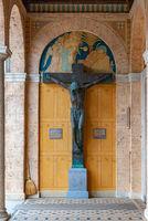 Erzabtei St. Martin zu Beuron im Oberen Donautal, Baden-Württemberg, Deutschland