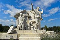 Der Durchbruch - Statue der Europäischen Freiheit,Paneuropäisches Picknick, Fertörakos, Ungarn