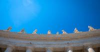 Saint Peter Columns in Rome