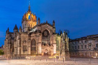 St Giles' Cathedral Edinburgh Royal Mile