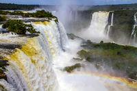The fantastic roaring Iguazu Falls
