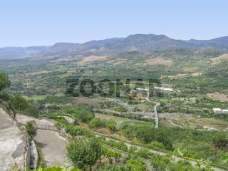 around Castiglione di Sicilia
