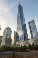 Views Of The Freedom Tower And World Trade Center Memorial In New York City