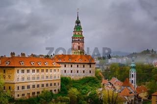 View of the Сesky Krumlov Castle