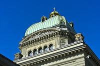 Bundeshaus, Regierungs- und Parlamentsitz der Schweiz, Bern, Schweiz