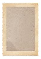 Old photo frame. Vintage paper. Retro card