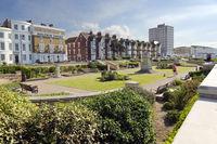 Gardens on the promenade Herne Bay Kent