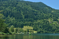 Afritzer See in Kaernten,Oesterreich